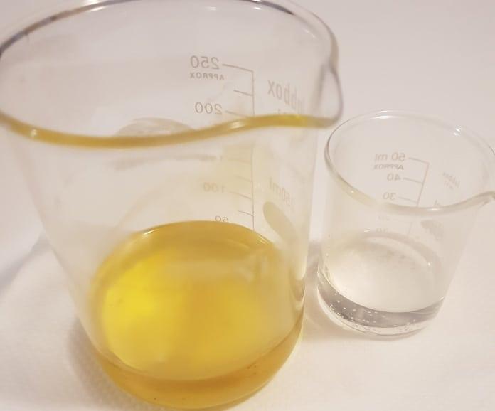 Pasul 3 - Crema de fata homemade antiacnee