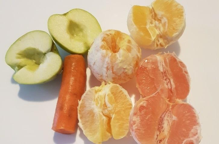 Pregatirea fructelor pentru suc