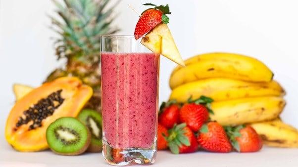 Shake de fructe cu lapte