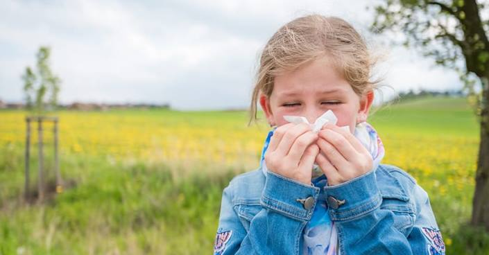 Rinita alergica la copii