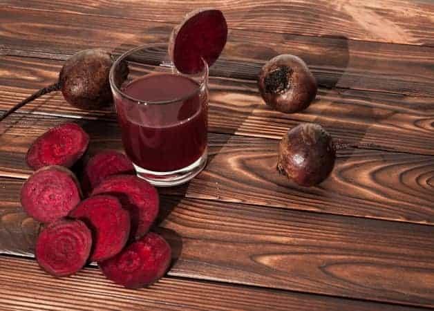 Sucul de sfecla rosie